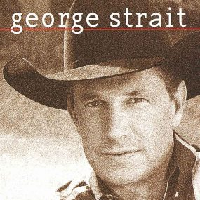 George Strait self-titled album cover