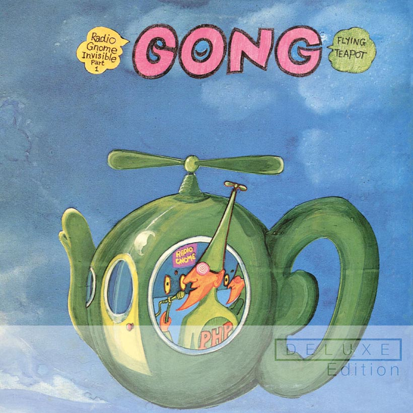 Gong Classic Virgin Records Album Reissues