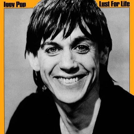 Iggy Pop Lust For Life album cover 820