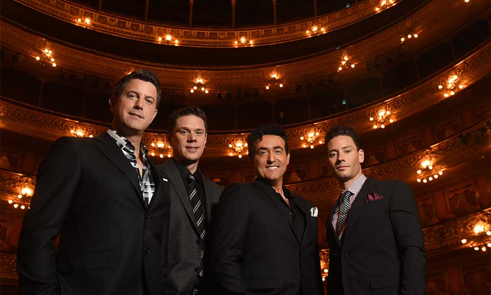 Il Divo Annouce 'Timeless Live In Japan' DVD