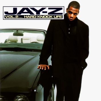 Jay Z Vol 2 Hard Knock Life Album cover