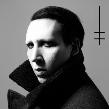 Marilyn Manson Heaven Upside down album cover 820