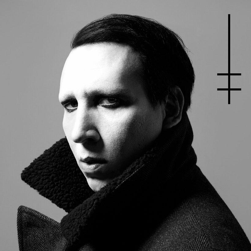 Marilyn Manson Heaven Upside down album cover 820