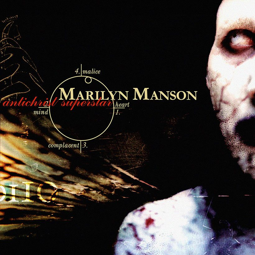 Marilyn Manson Antichrist Superstar album cover 820