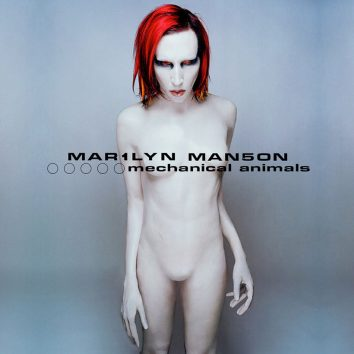 Marilyn Manson Mechanical Animals album cover