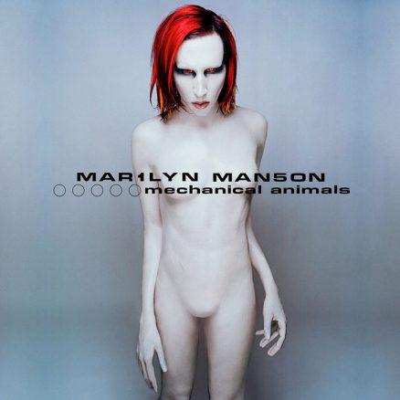 Marilyn Manson Mechanical Animals album cover