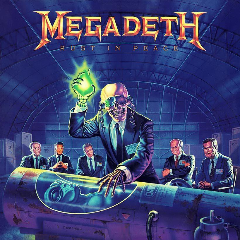 Megadeth Rust In Peace album cover