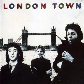 Paul McCartney Wings London Town album cover 820