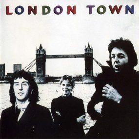 Paul McCartney Wings London Town album cover 820