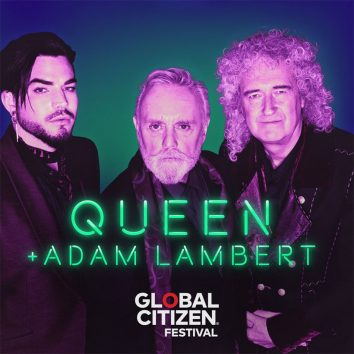 Queen Livestream Global Citizen Show