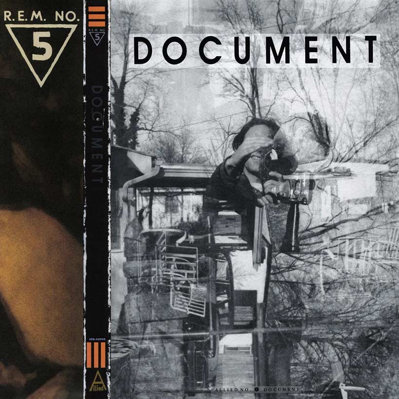 REM Document album cover 820