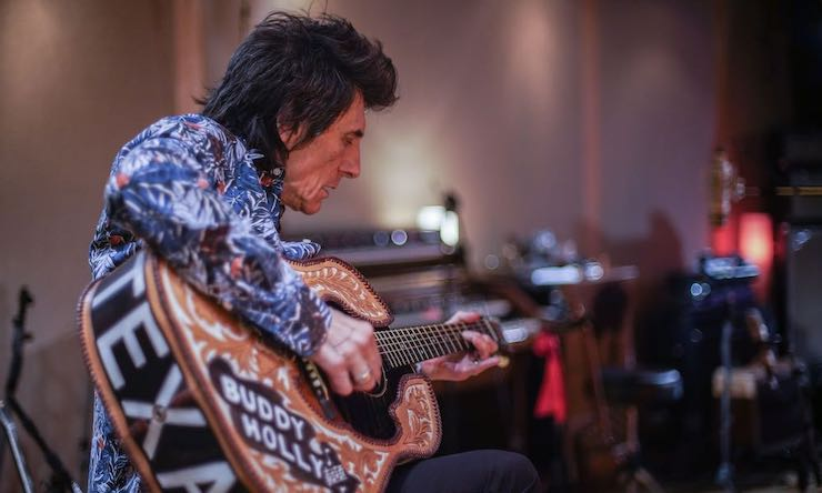 Ronnie Wood 2019 documentary approved press photo