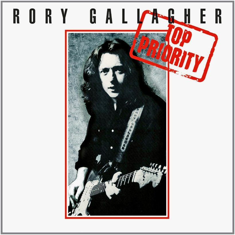 Rory Gallagher Top Priority album cover