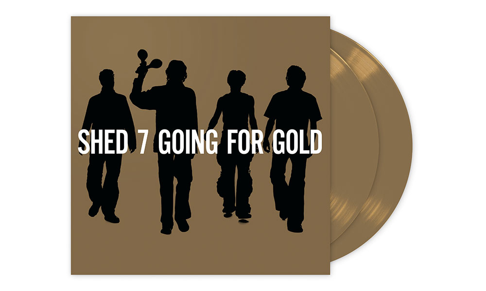 Shed Seven Going For Gold Vinyl Reissue