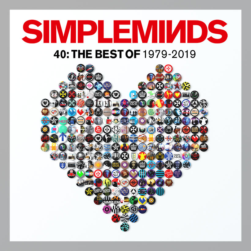 Resultado de imagem para Forty: The Best Of Simple Minds 1979-2019