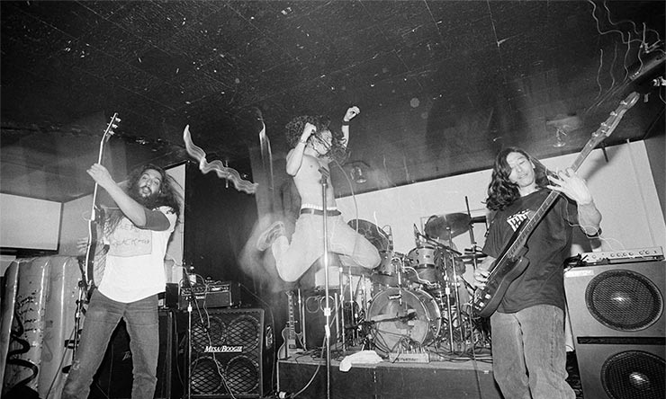 Charles Peterson Soundgarden photos Louder Than Love era 01