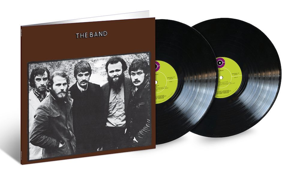 The Band album 2LP packshot
