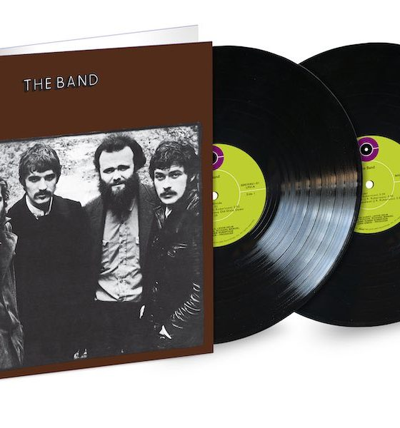 The Band album 2LP packshot
