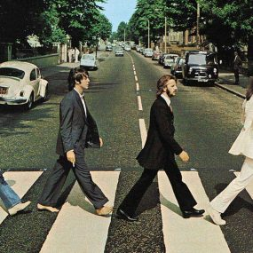 The Beatles Abbey Road Crossing Recreated Hollywood
