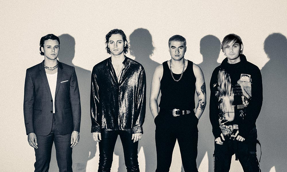 5 Seconds Of Summer Announce No Shame UK And European Tour