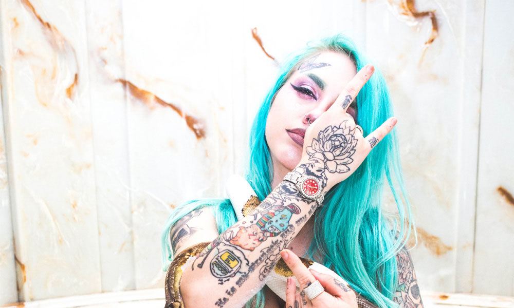 Baby Goth Gets Tattoo YouTube Series