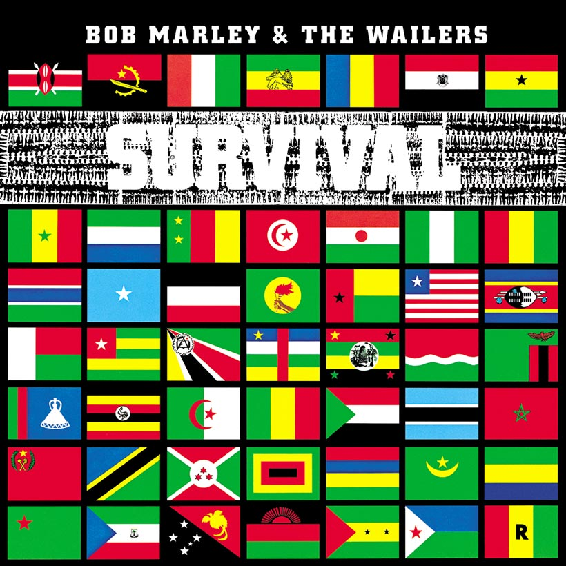 Bob Marley And The Wailers Survival album cover 820
