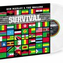 Clear Vinyl 40th Anniversary Edition Of Bob Marley & The Wailers' 'Survival'