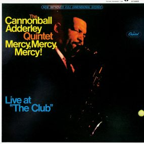 Cannonball Adderley Quintet Mercy Mercy Mercy Album Cover brightness 820