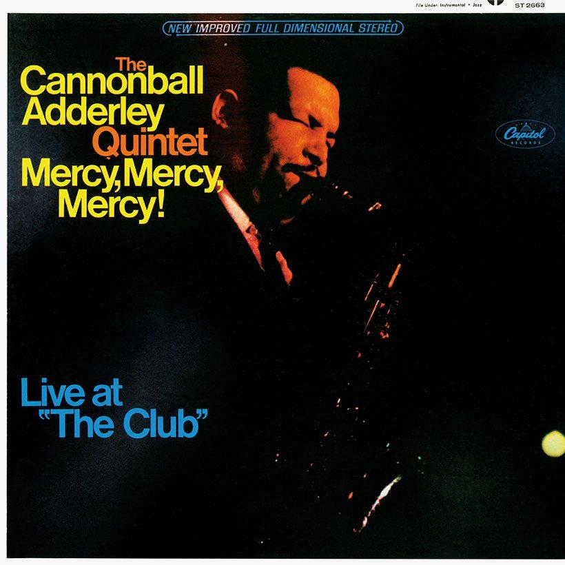 Cannonball Adderley Quintet Mercy Mercy Mercy Album Cover brightness 820