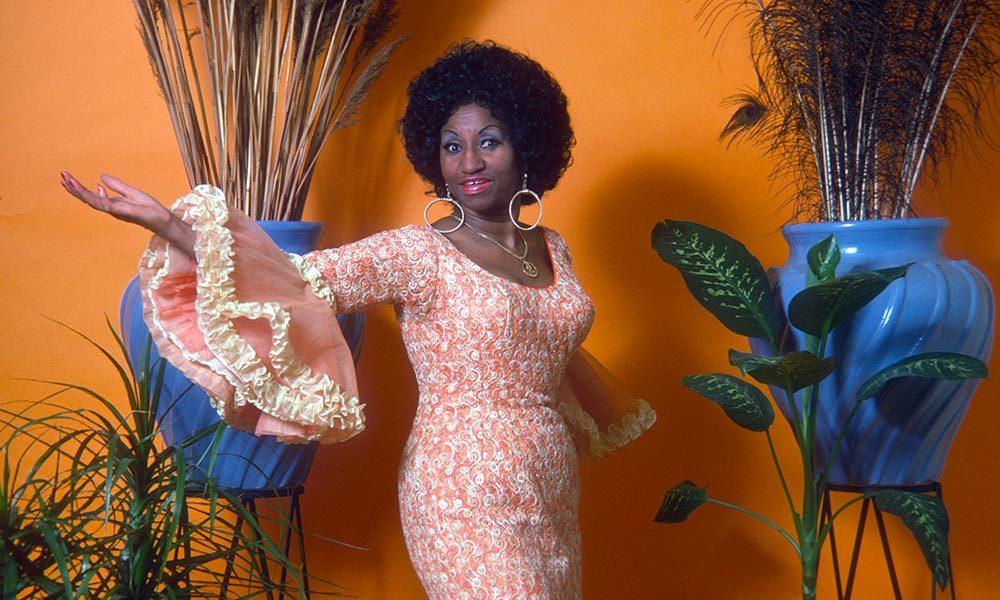 Celia Cruz photo courtesy of Craft Latino 1000