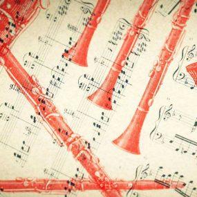 Mozart Clarinet Concerto - clarinet image