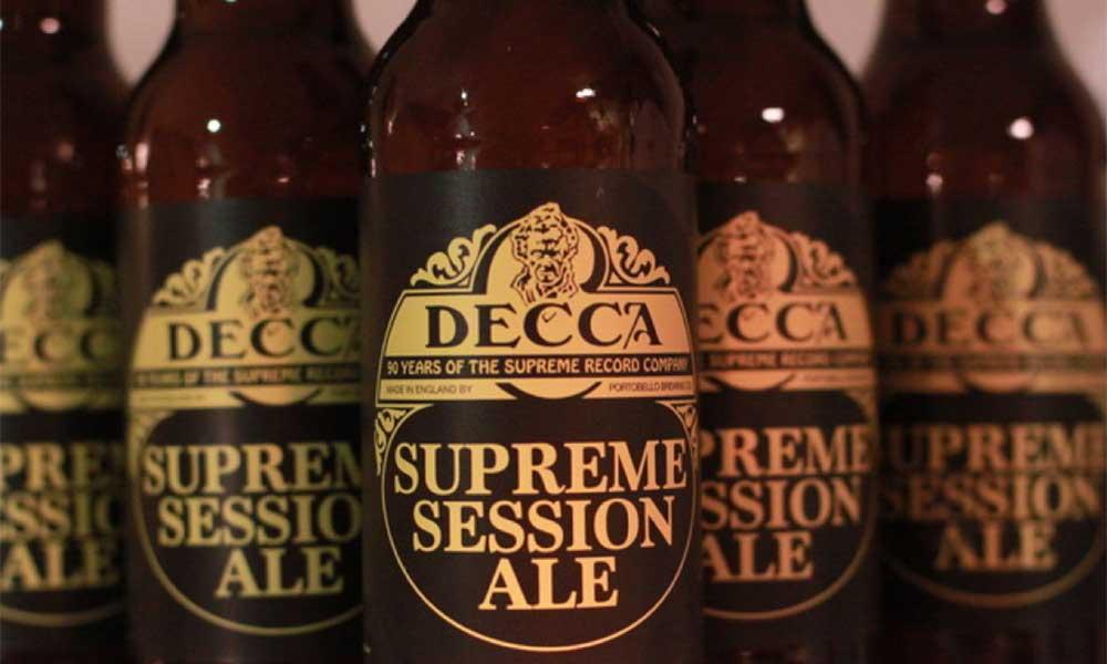 Decca Records Launch Decca Supreme Session Ale