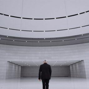 Ludovico Einaudi at Steve Jobs Theater. Photo courtesy of Apple Music.