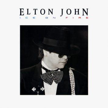 Elton John Ice On Fire album cover 820