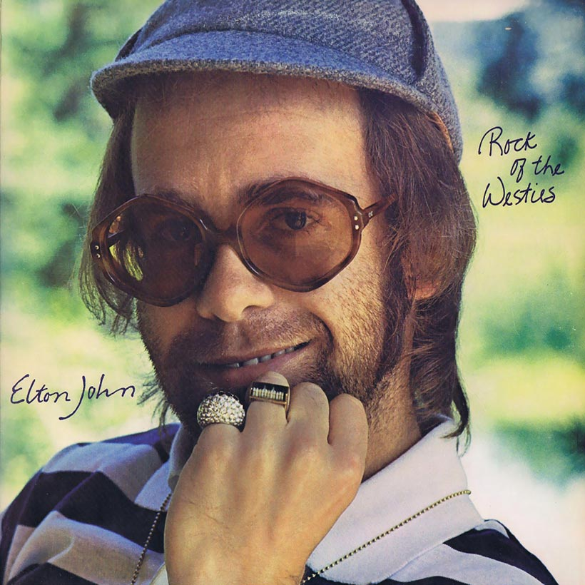 Elton John Rock Of The Westies album cover 820