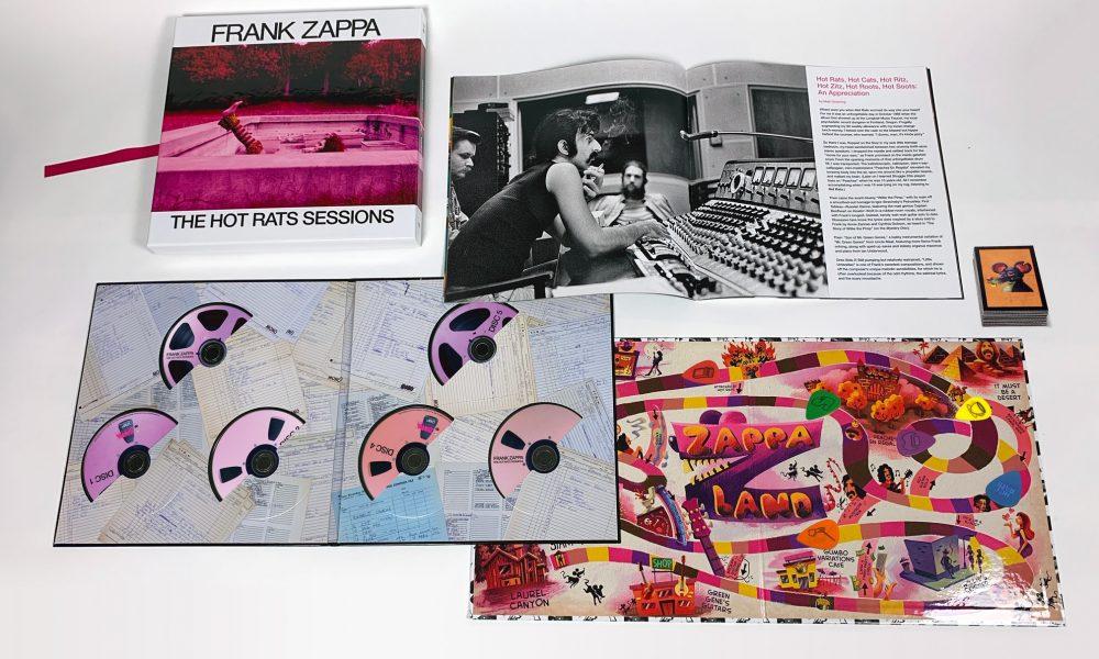 Frank Zappa Hot Rats Sessions packshot