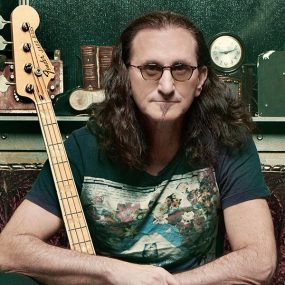 Geddy Lee Bass book press shot Richard Sibbald