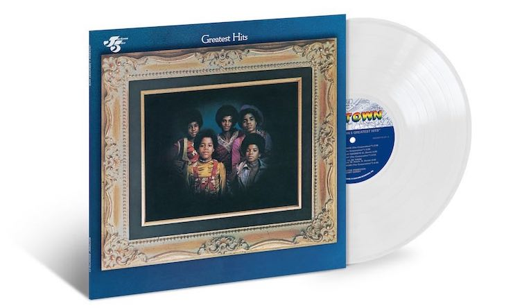 Jackson 5 Greatest Hits clear vinyl