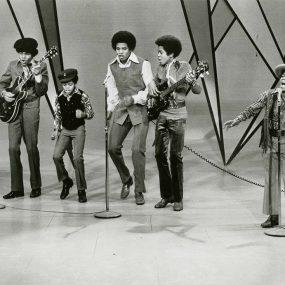Jackson 5 press shot Motown Records Archive