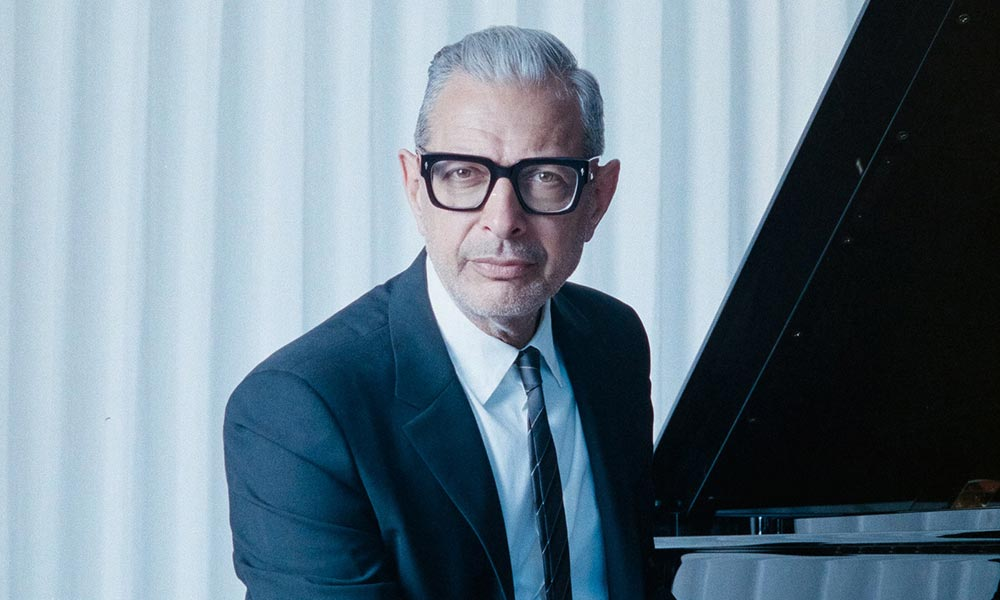 Listen To Jeff Goldblum's 'Four Six'/'Broken English' Ft. Anna Calvi