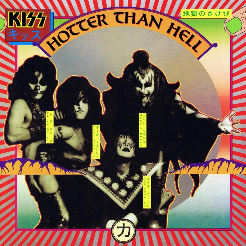 KISS Hotter Than Hell album cover 820