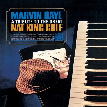 Marvin Gaye A Tribute To The Great Nat King Cole album cover 820