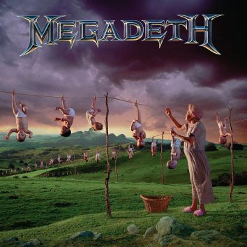 Megadeth Youthanasia album cover 820