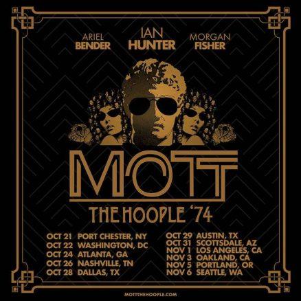 Mott The Hoople '74 tour poster