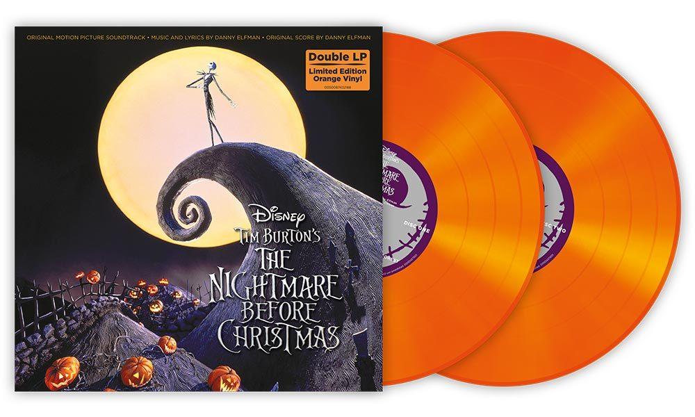 Nightmare Before Christmas Orange Vinyl