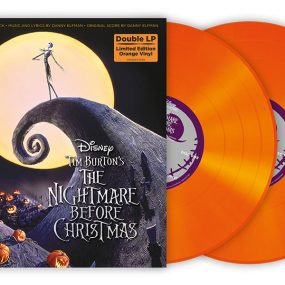 Nightmare Before Christmas Orange Vinyl