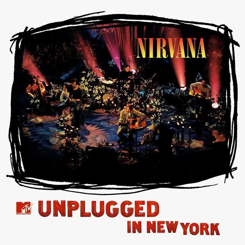 Nirvana MTV Unplugged In New York album cover 820