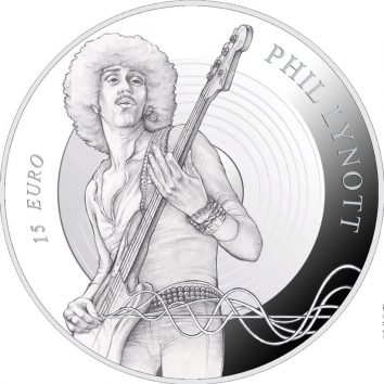 Thin Lizzy Phil Lynott Special Coin