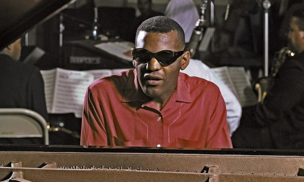 Ray Charles in the studio in Los Angeles in 1961. Photo: Michael Ochs Archives/Getty Images