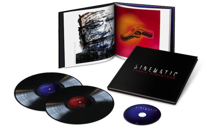 Robbie Robertson Sinematic deluxe packshot